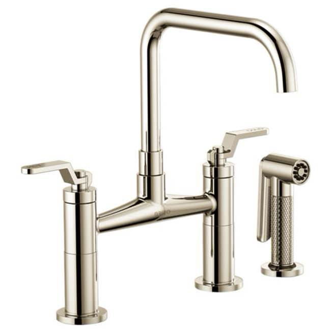 Brizo Bridge Kitchen Faucets item 62554LF-PN