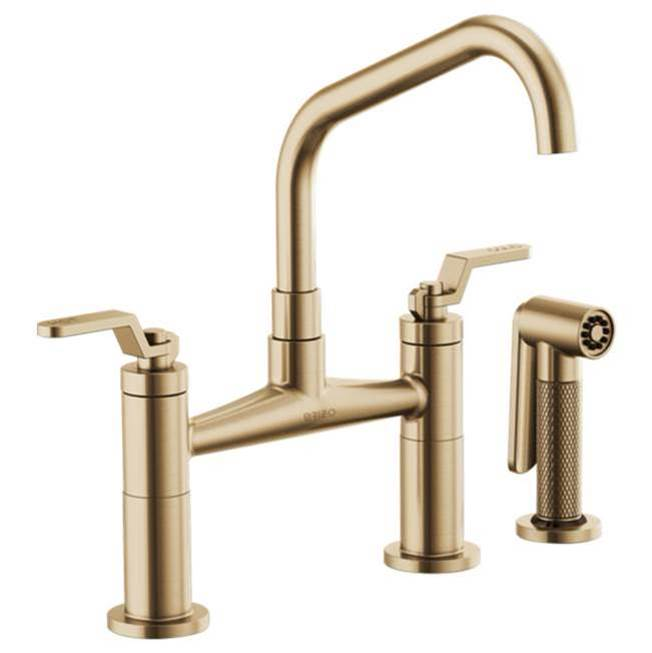 Brizo Bridge Kitchen Faucets item 62564LF-GL