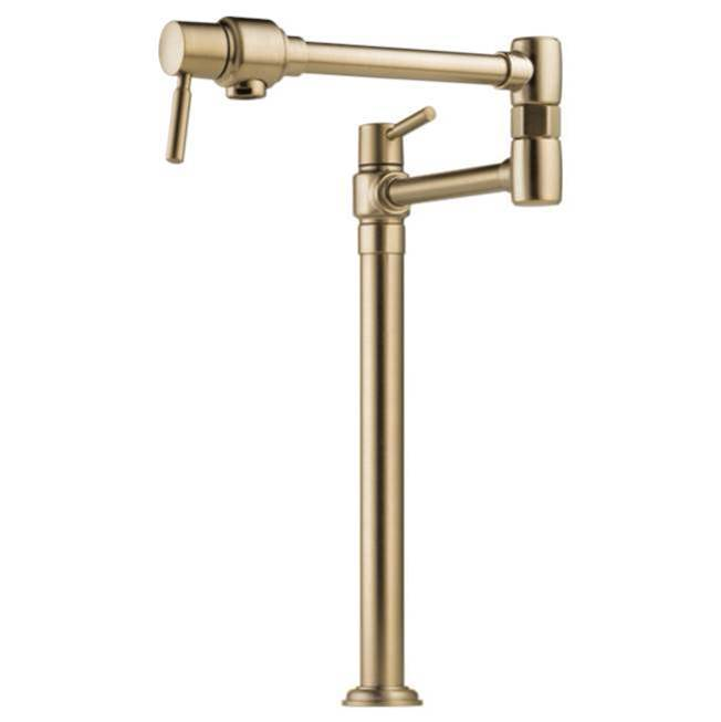 Brizo Deck Mount Pot Filler Faucets item 62720LF-GL