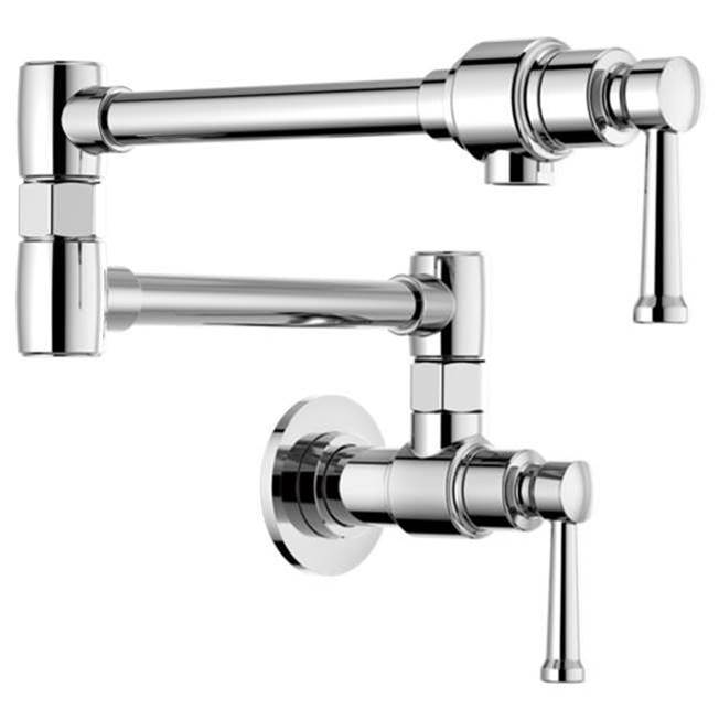 Brizo Wall Mount Pot Filler Faucets item 62825LF-PC
