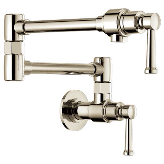 Brizo Wall Mount Pot Filler Faucets item 62825LF-PN