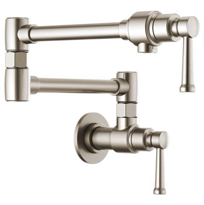 Brizo Wall Mount Pot Filler Faucets item 62825LF-SS