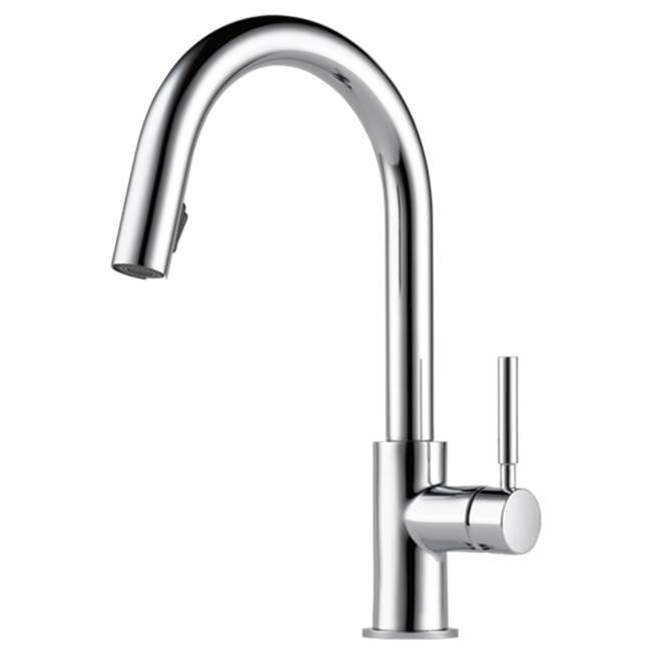 Brizo Single Hole Kitchen Faucets item 63020LF-PC