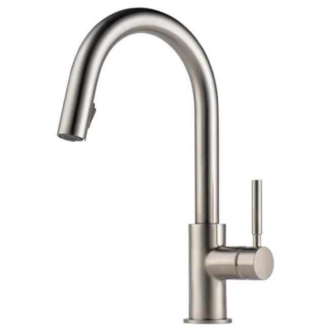 Brizo Single Hole Kitchen Faucets item 63020LF-SS
