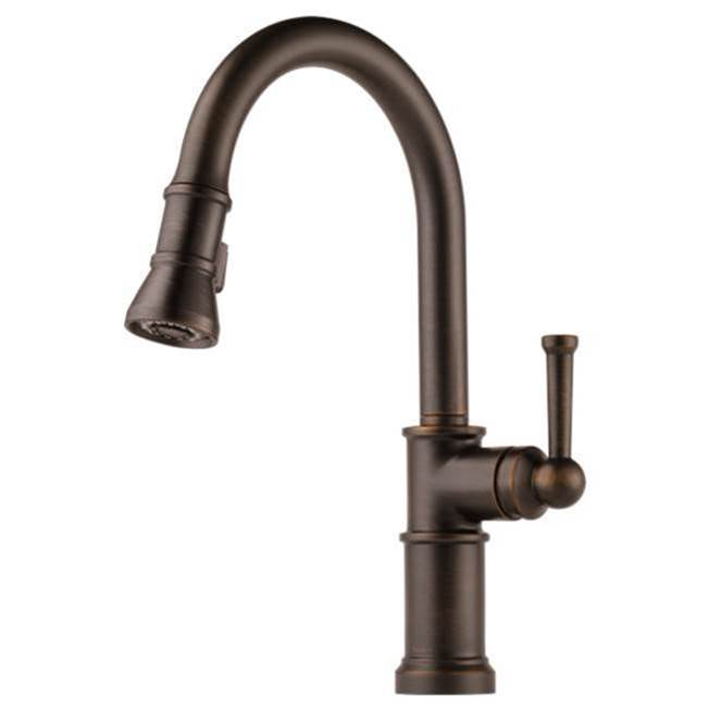 Brizo Single Hole Kitchen Faucets item 63025LF-RB