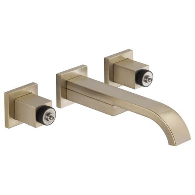Brizo Wall Mounted Bathroom Sink Faucets item 65880LF-BNLHP