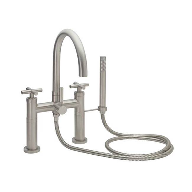 California Faucets Deck Mount Tub Fillers item 1108-XX.18-SC