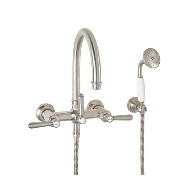 California Faucets Wall Mount Tub Fillers item 1306-46.18-SB