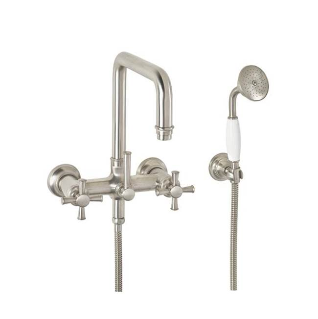 California Faucets Wall Mount Tub Fillers item 1406-48.20-BNU
