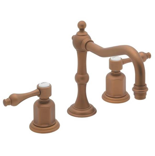 California Faucets Widespread Bathroom Sink Faucets item 3602ZBF-MBLK