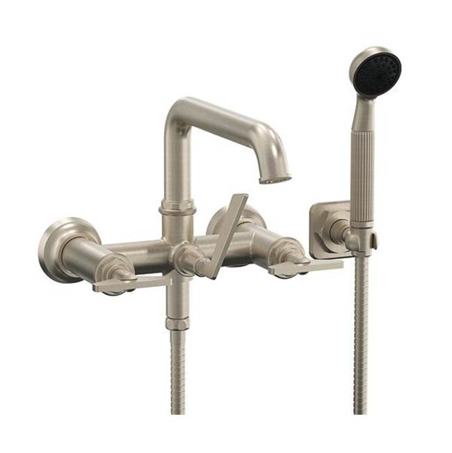 California Faucets Deck Mount Tub Fillers item 8608B-ETW.18-MBLK