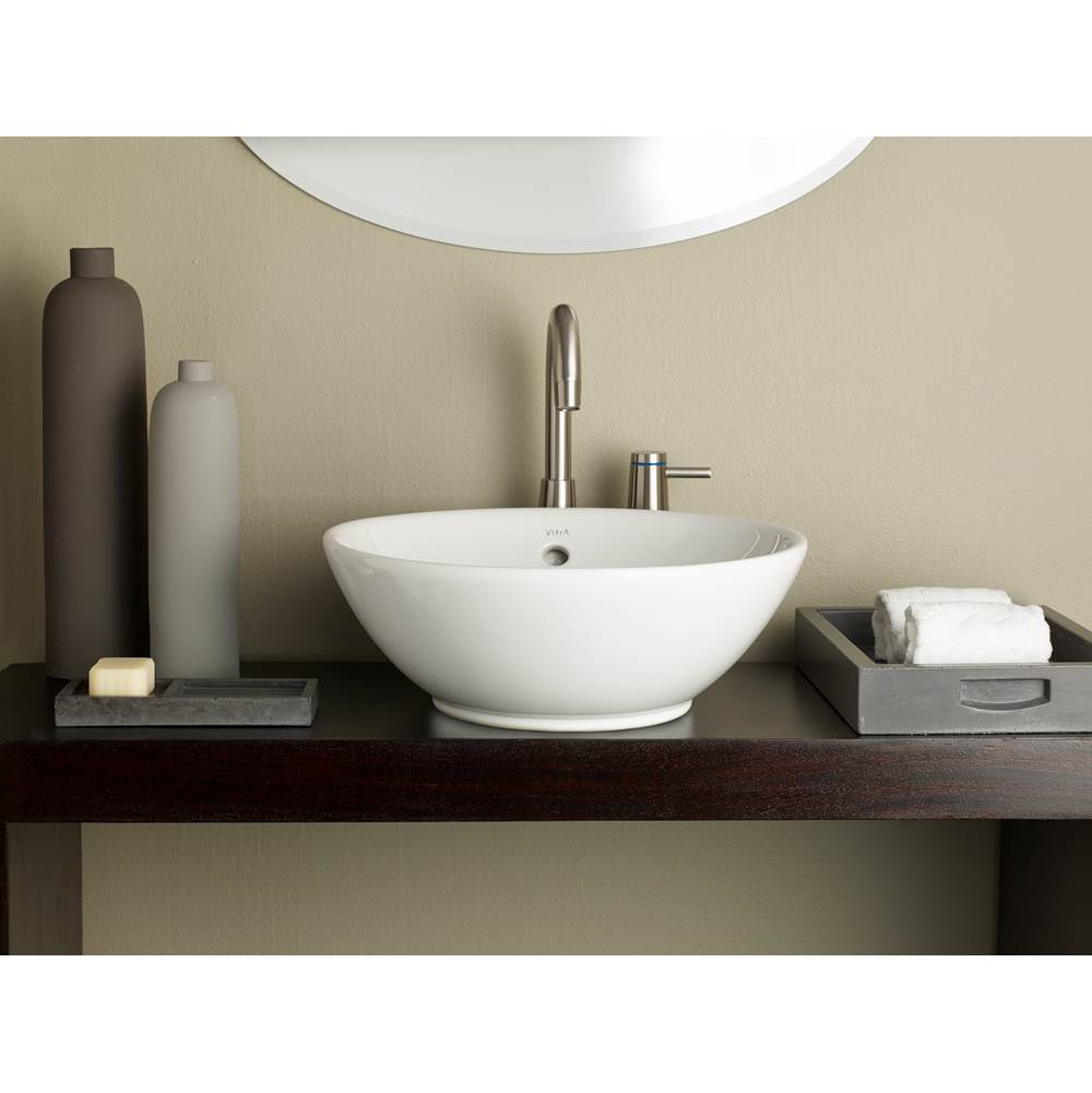 Cheviot Products Vessel Bathroom Sinks item 1200-WH