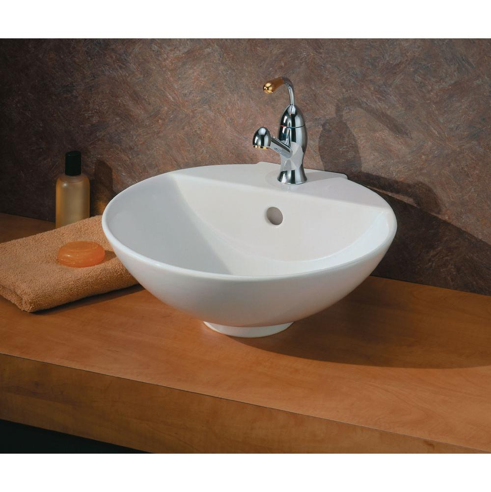 Cheviot Products Vessel Bathroom Sinks item 1225-WH-1