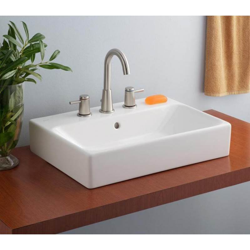 Cheviot Products Vessel Bathroom Sinks item 1234-WH-1