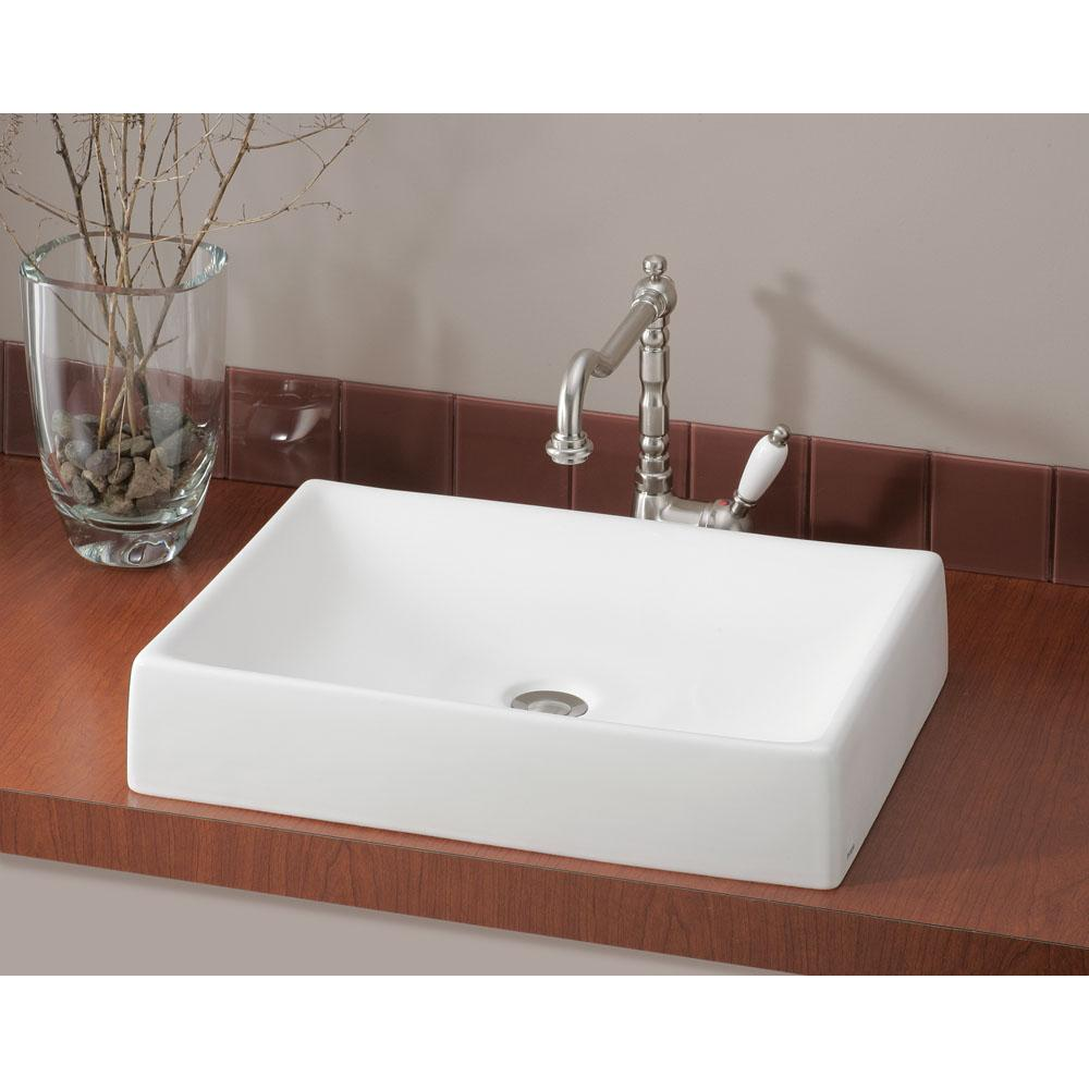 Cheviot Products Vessel Bathroom Sinks item 1246-WH