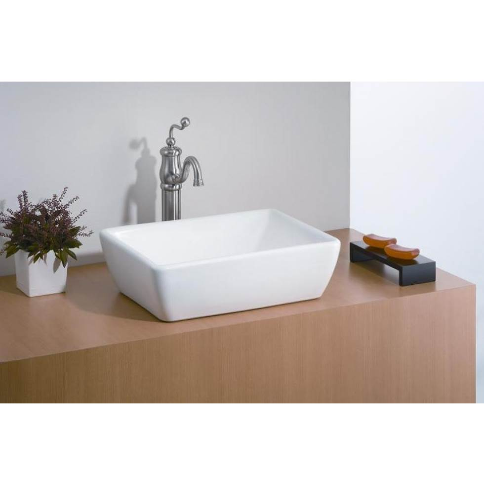 Cheviot Products Vessel Bathroom Sinks item 1254-WH