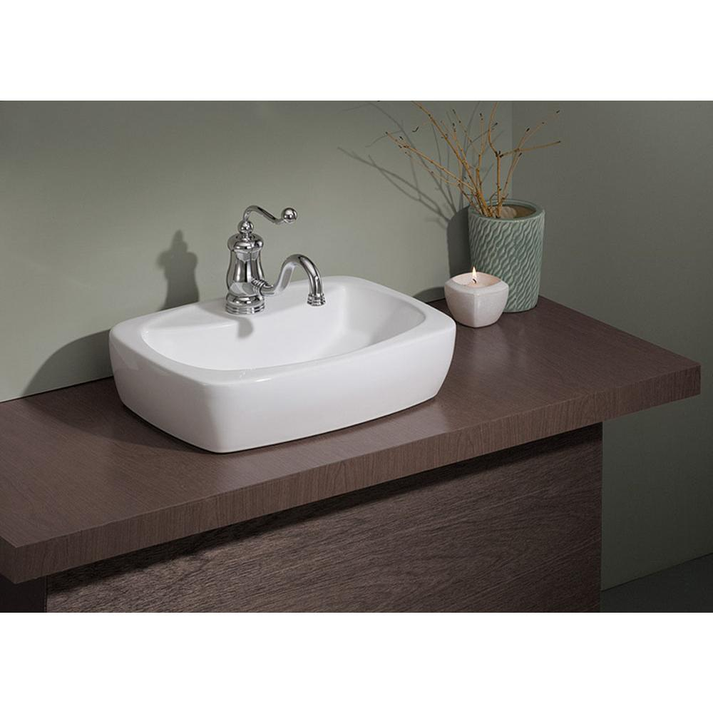 Cheviot Products Vessel Bathroom Sinks item 1270-WH-1