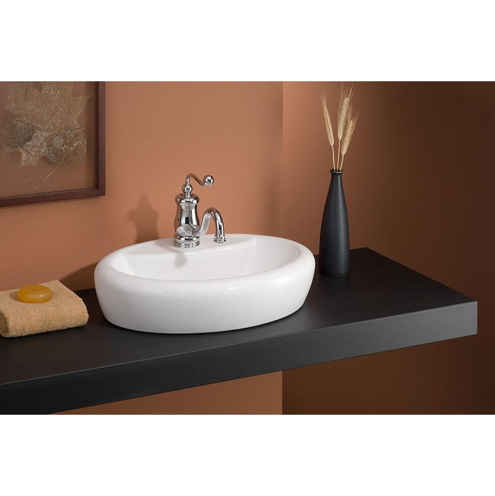 Cheviot Products Vessel Bathroom Sinks item 1273-WH-1