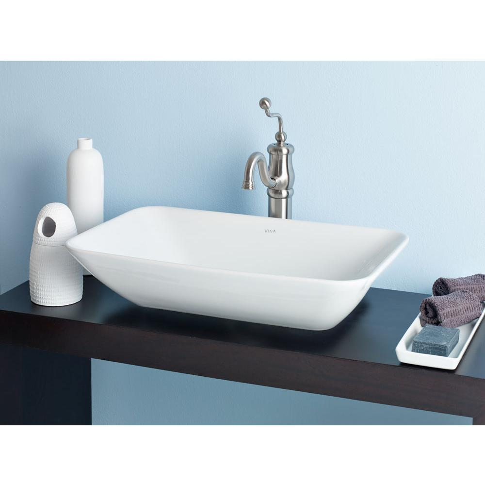 Cheviot Products Vessel Bathroom Sinks item 1274-WH