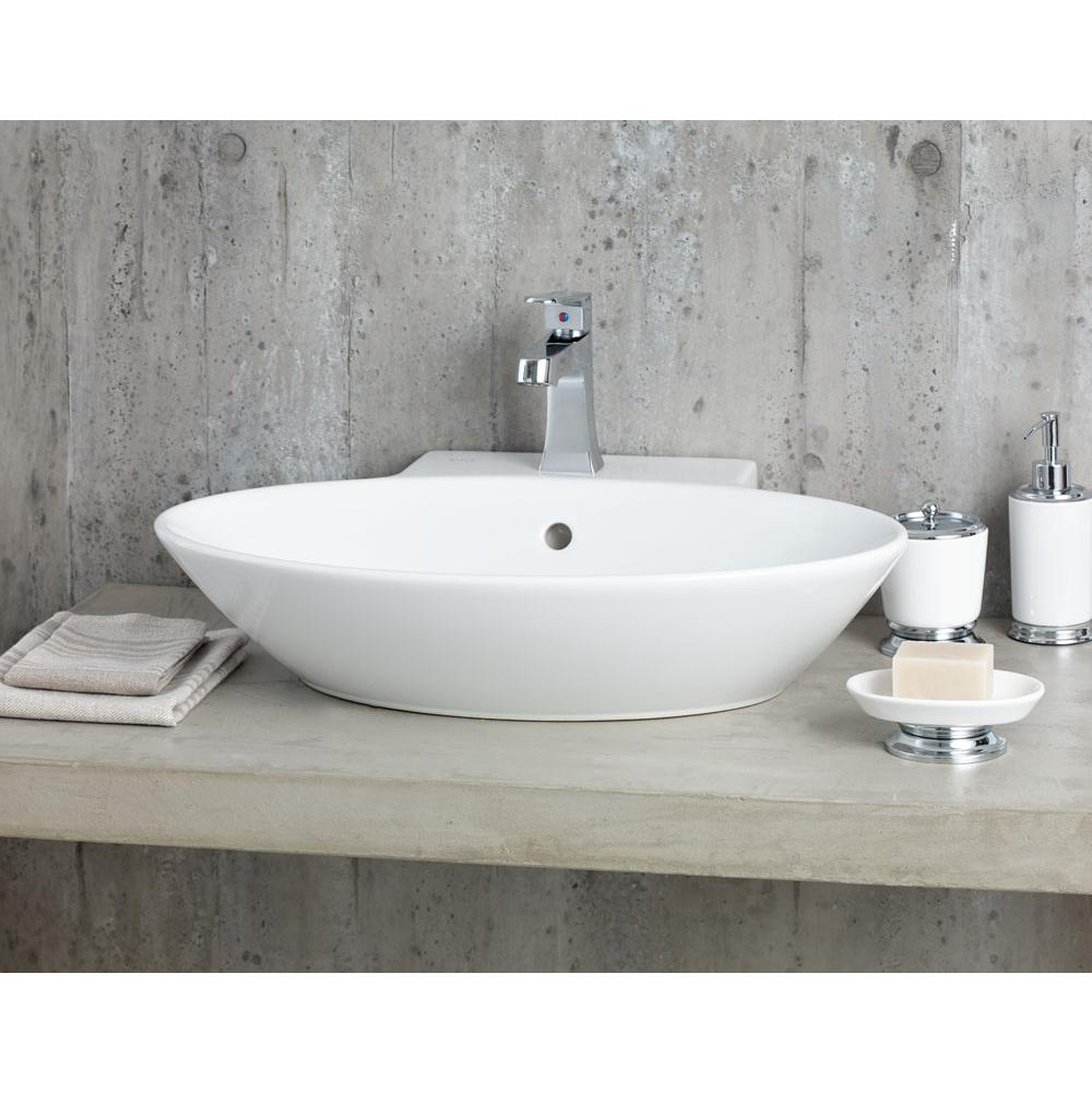 Cheviot Products Vessel Bathroom Sinks item 1277-WH-1
