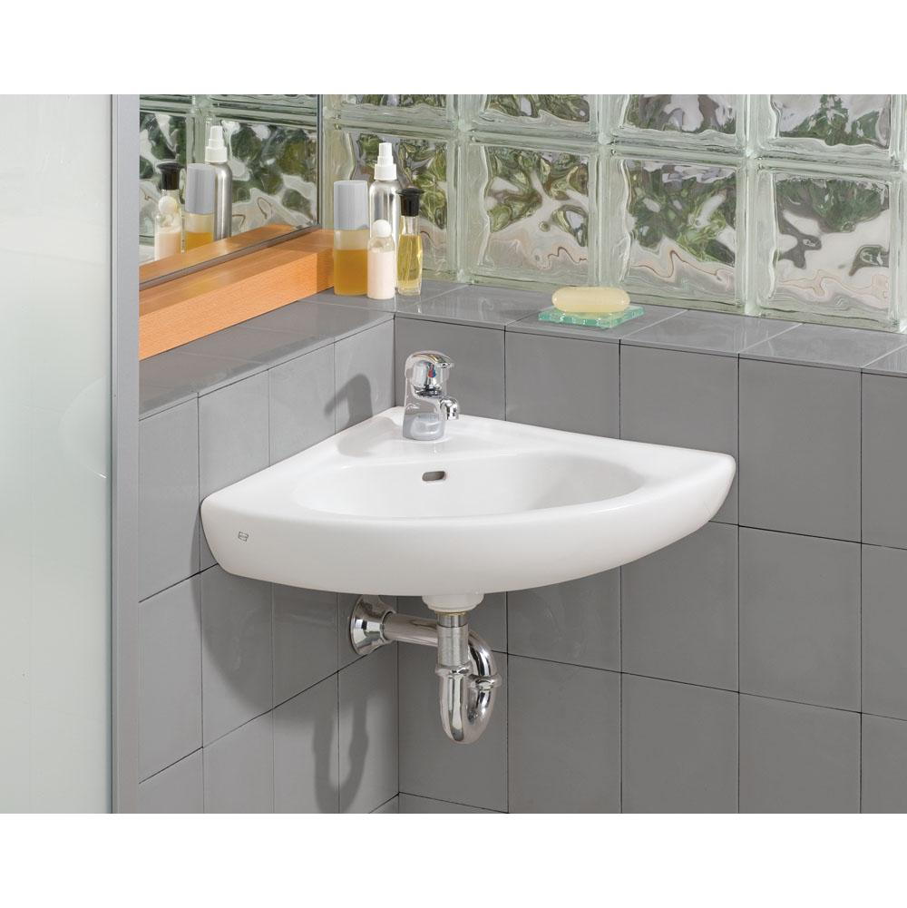 Cheviot Products Corner Bathroom Sinks item 1350-WH-1