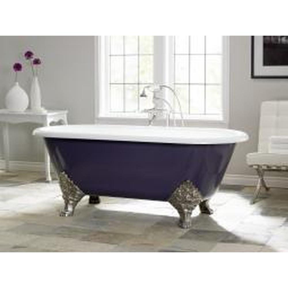 Cheviot Products Clawfoot Soaking Tubs item 2160-WC-8-CH
