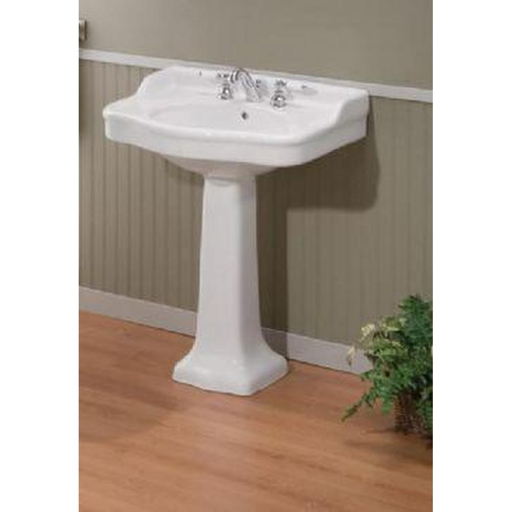 Cheviot Products  Pedestal Bathroom Sinks item 350/22-WH-1