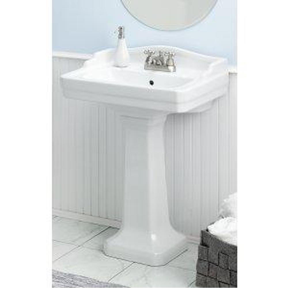 Cheviot Products Complete Pedestal Bathroom Sinks item 553-WH-4