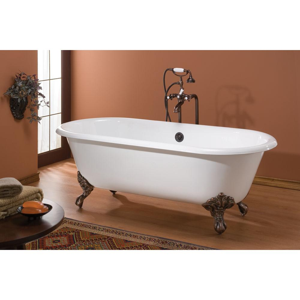 Cheviot Products Clawfoot Soaking Tubs item 2127-BB-CH