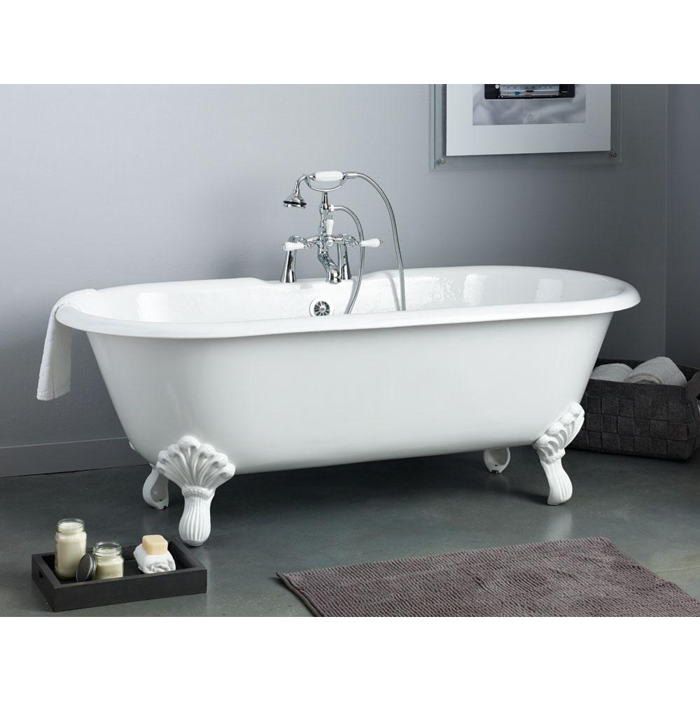 Cheviot Products Clawfoot Soaking Tubs item 2168-WW-8-WH