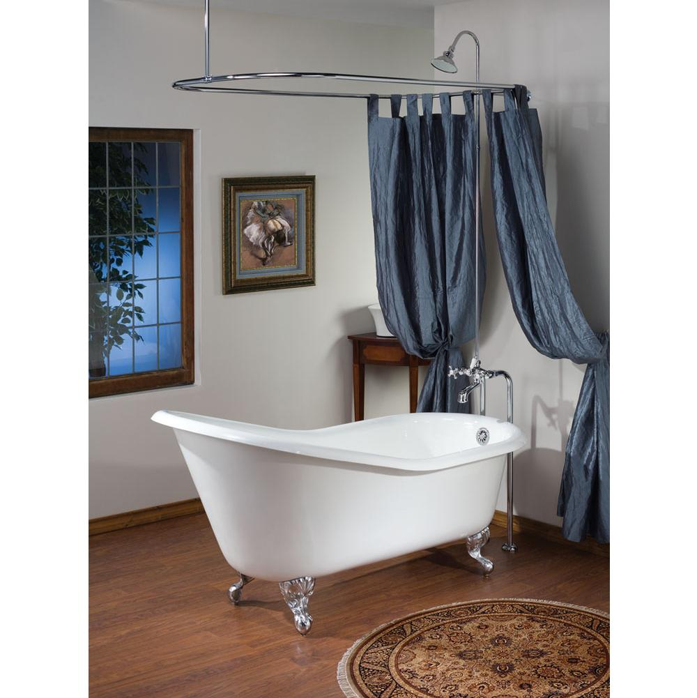 Cheviot Products Clawfoot Soaking Tubs item 2108-WW-PB