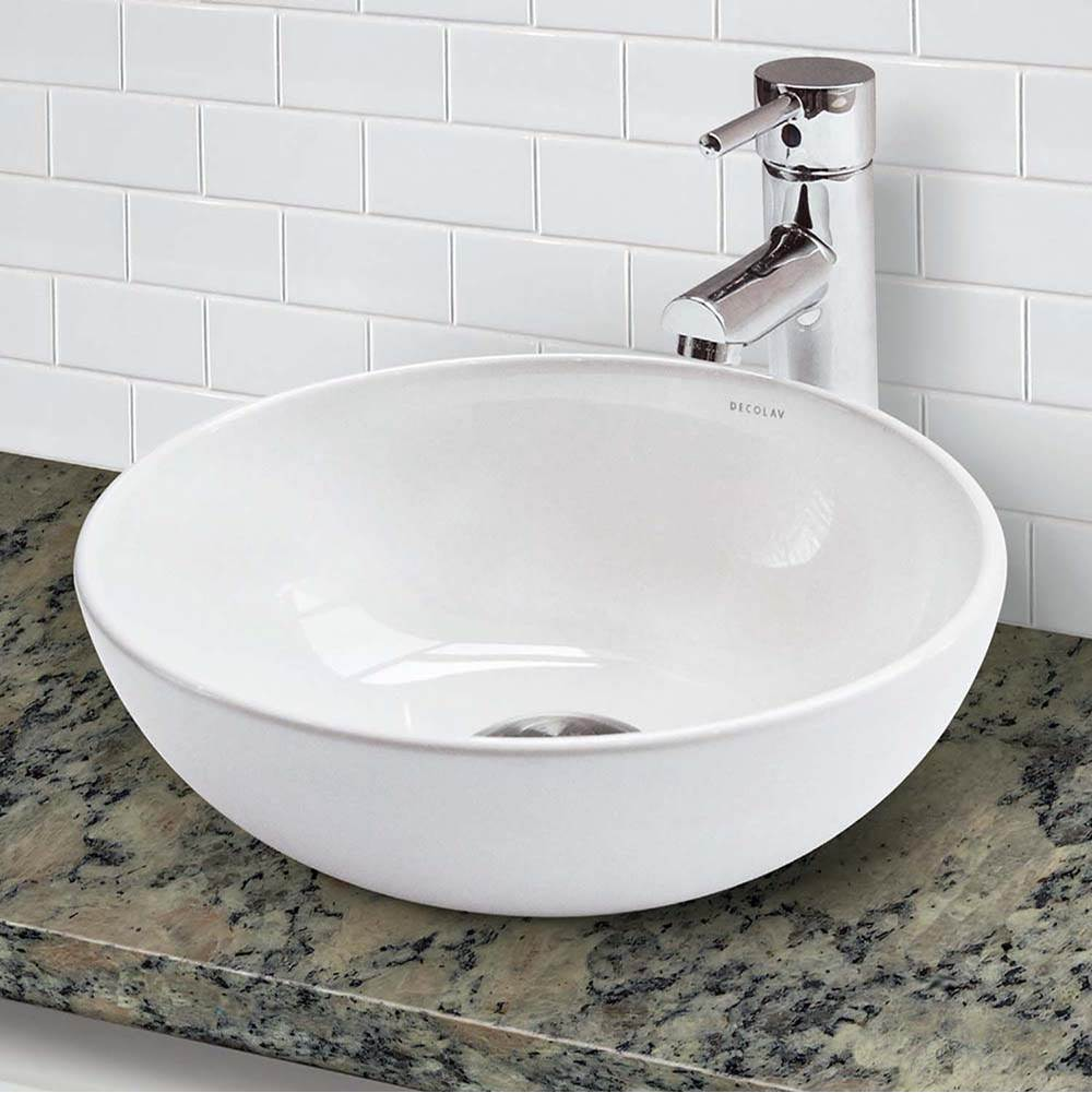 Decolav  Bathroom Sinks item 1494-CWH
