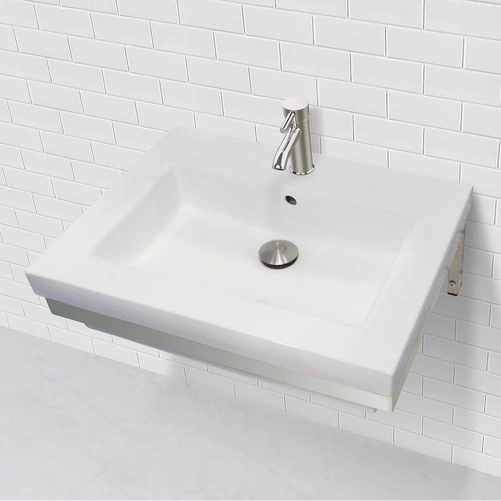 Decolav  Bathroom Sinks item 1819W-1P-CWH