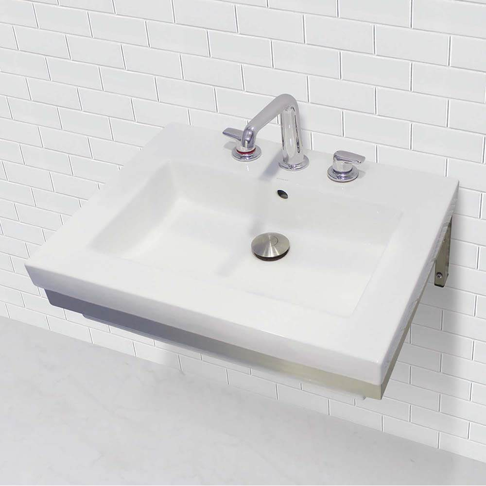 Decolav  Bathroom Sinks item 1819W-8B-CWH