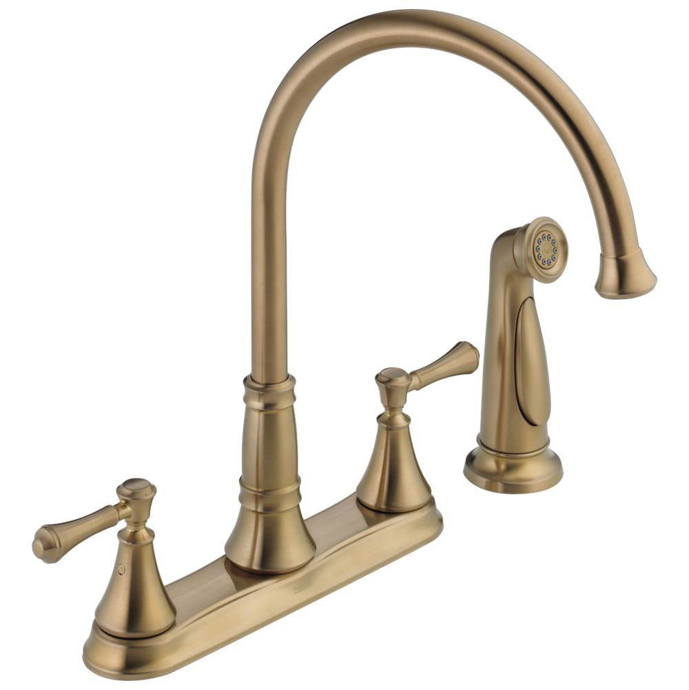 Delta Faucet Deck Mount Kitchen Faucets item 2497LF-CZ
