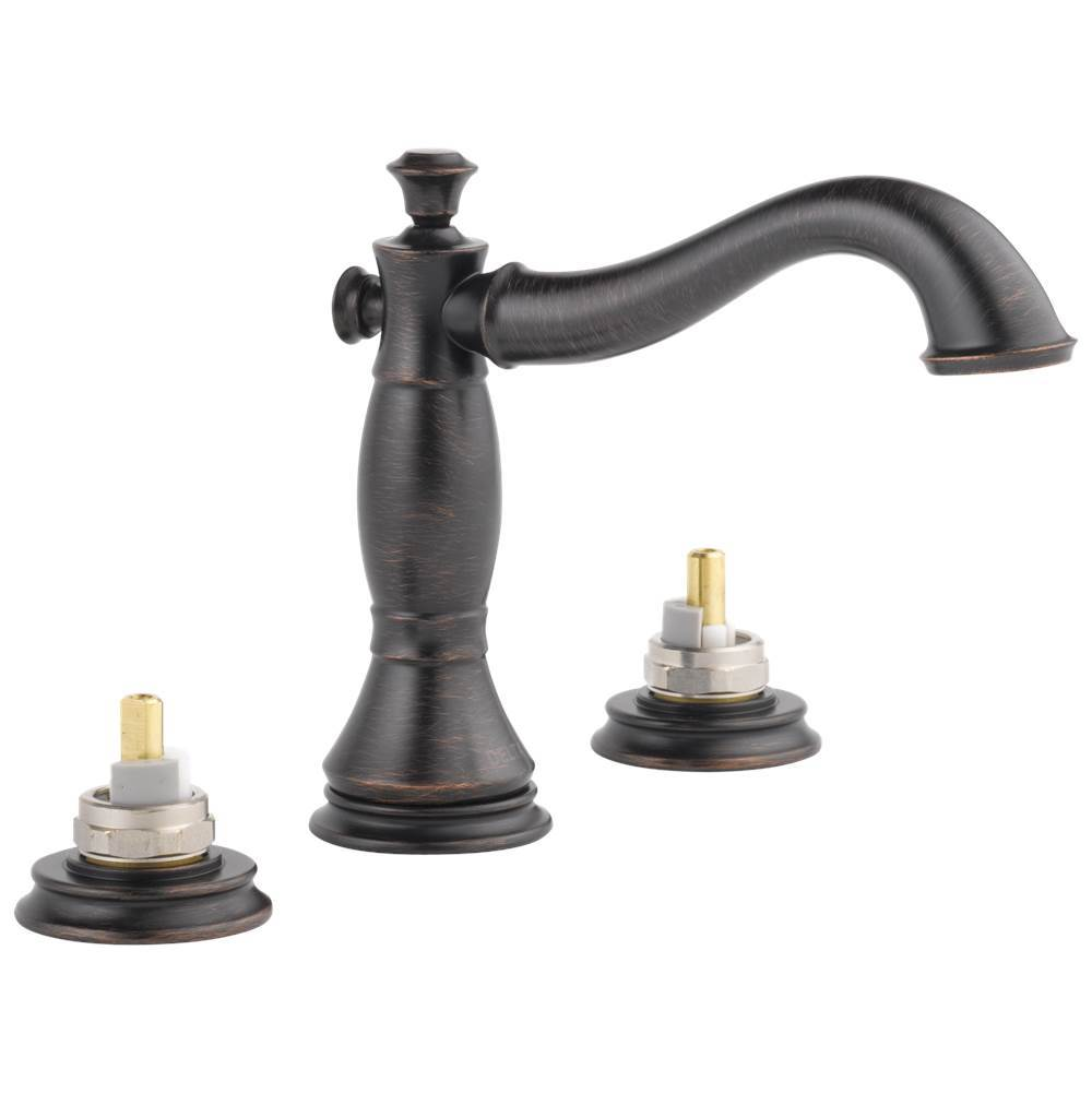 Delta Faucet Widespread Bathroom Sink Faucets item 3597LF-RBMPU-LHP