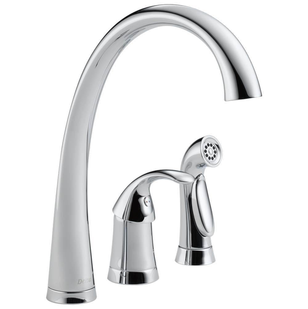 Delta Faucet Single Hole Kitchen Faucets item 4380-DST
