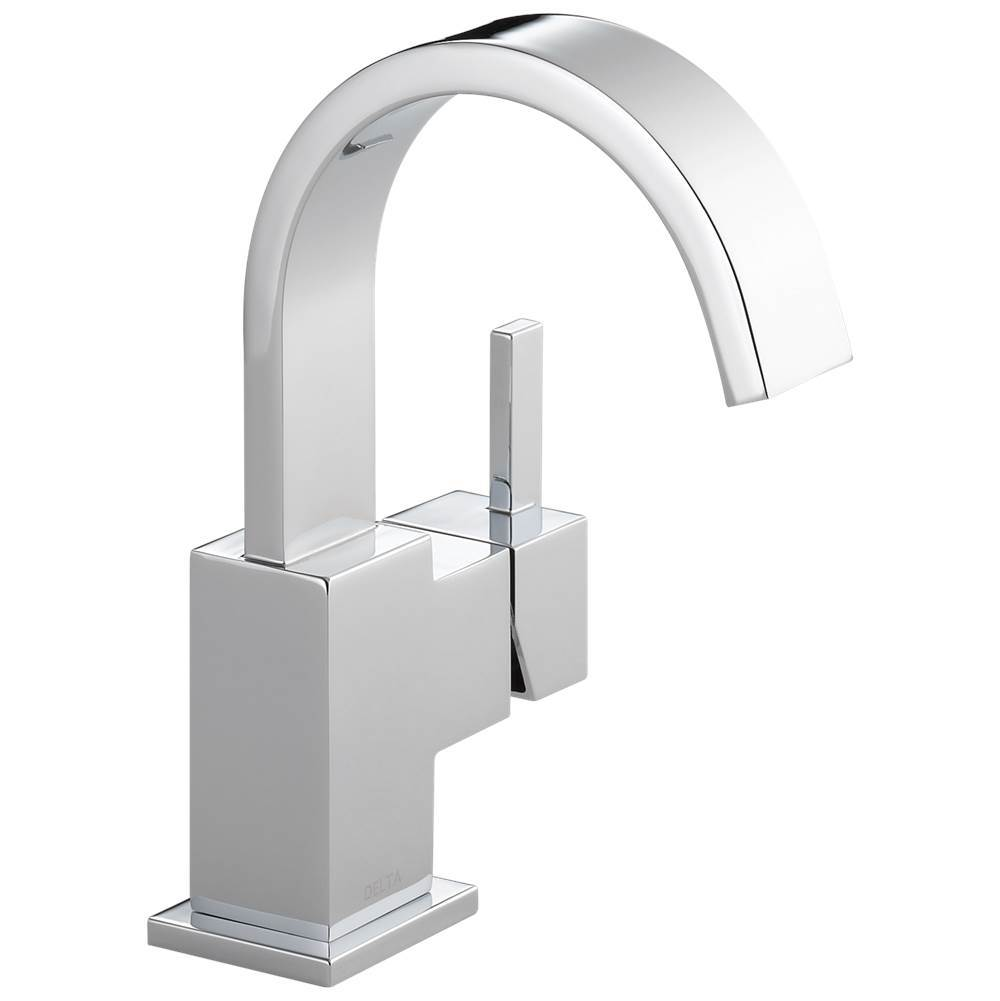 Delta Faucet Single Hole Bathroom Sink Faucets item 553LF-GPM