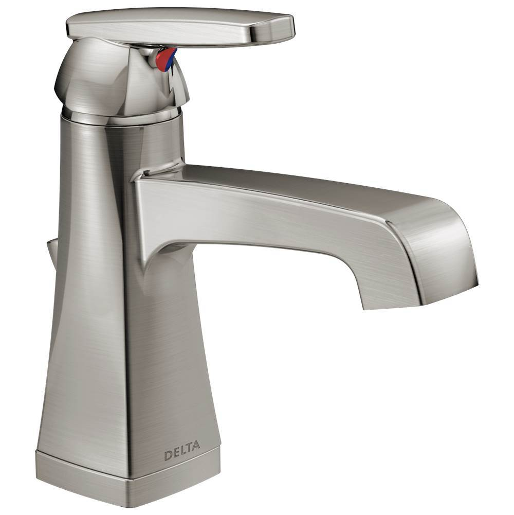 Delta Faucet Single Hole Bathroom Sink Faucets item 564-SSMPU-DST