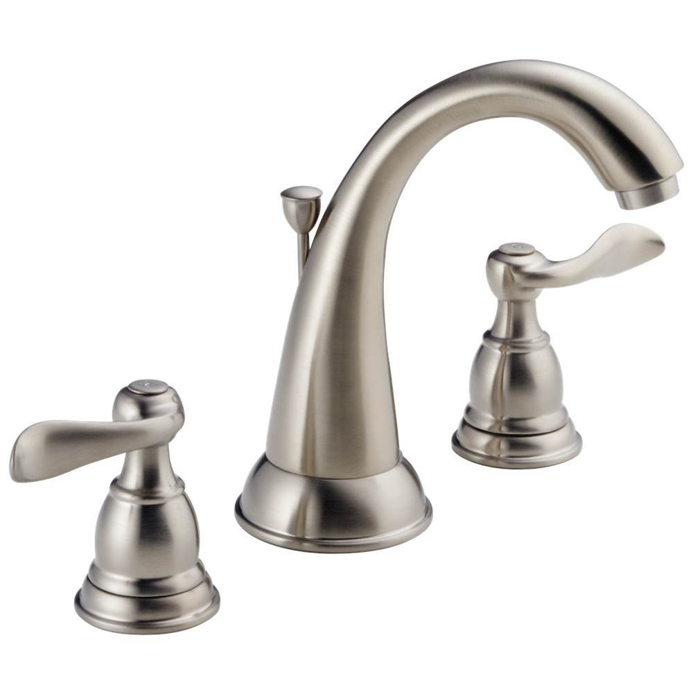 Delta Faucet Widespread Bathroom Sink Faucets item B3596LF-SS