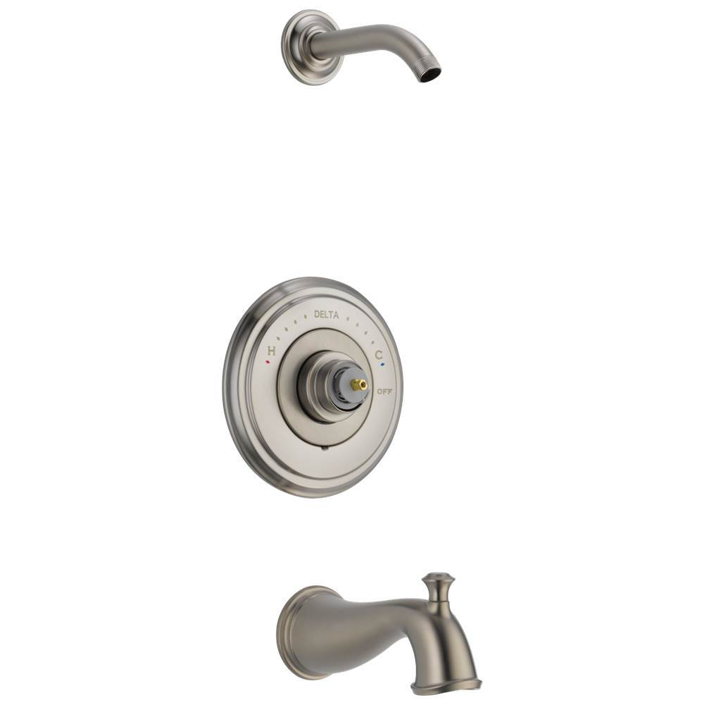 Delta Faucet  Tub And Shower Faucets item T14497-SSLHP-LHD