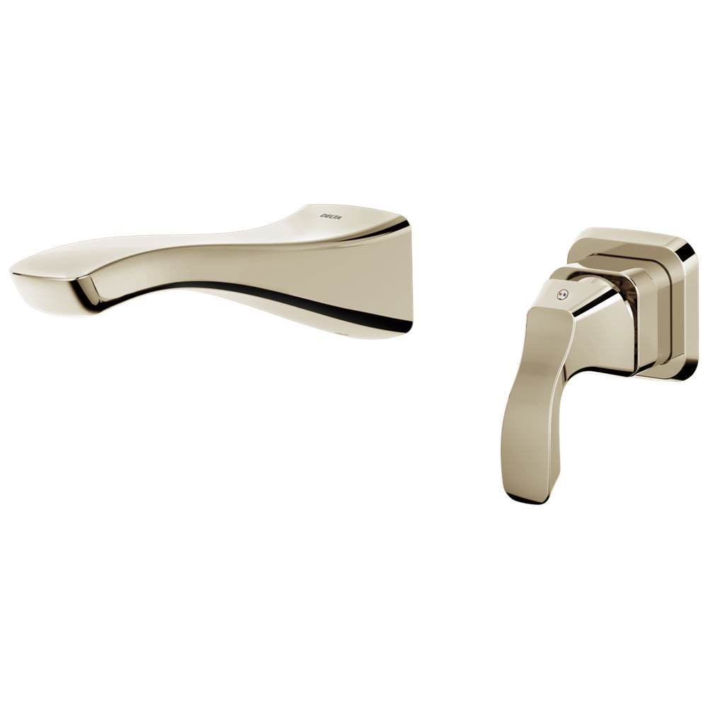 Delta Faucet Wall Mounted Bathroom Sink Faucets item T552LF-PNWL