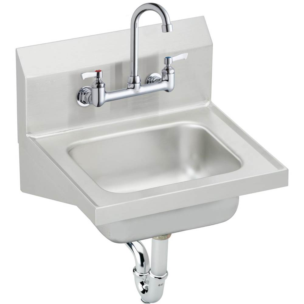 Elkay Wall Mount Laundry And Utility Sinks item CHS1716C