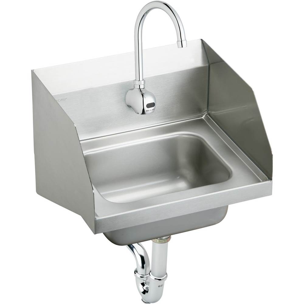 Elkay Wall Mount Laundry And Utility Sinks item CHS1716LRSSACMC