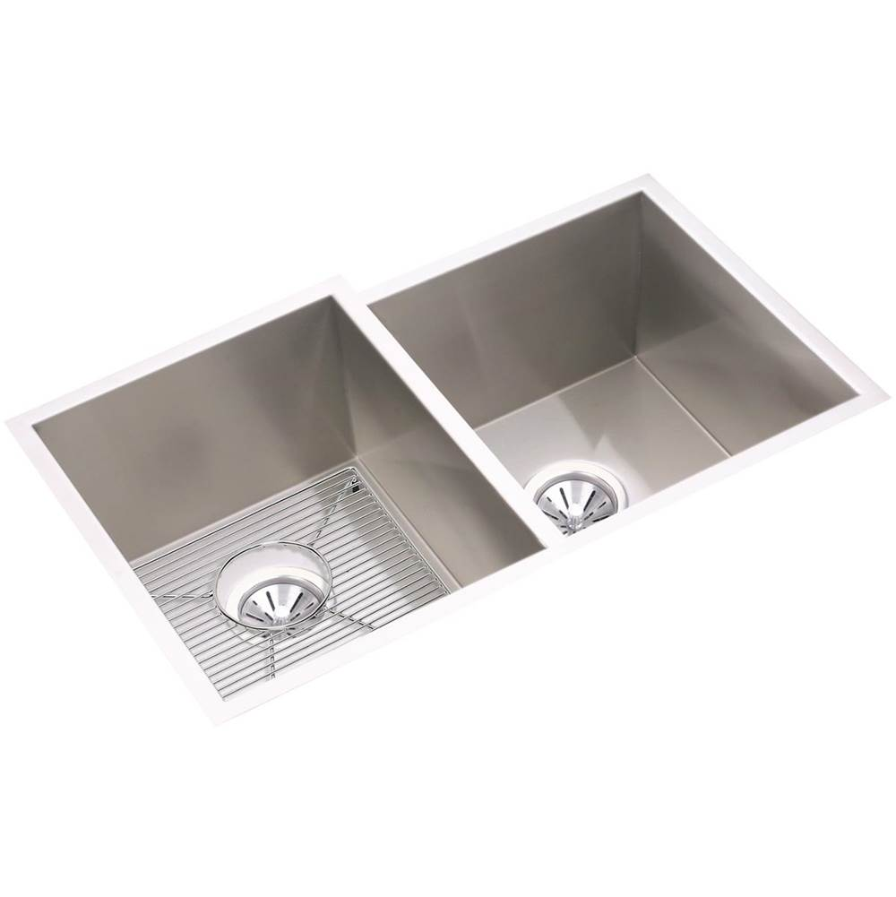 Elkay Undermount Kitchen Sinks item EFU312010RDBG