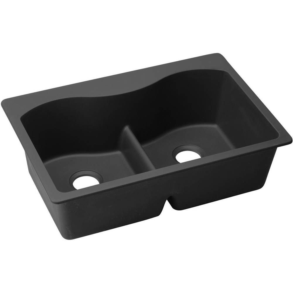 Elkay Drop In Kitchen Sinks item ELGLB3322BK0