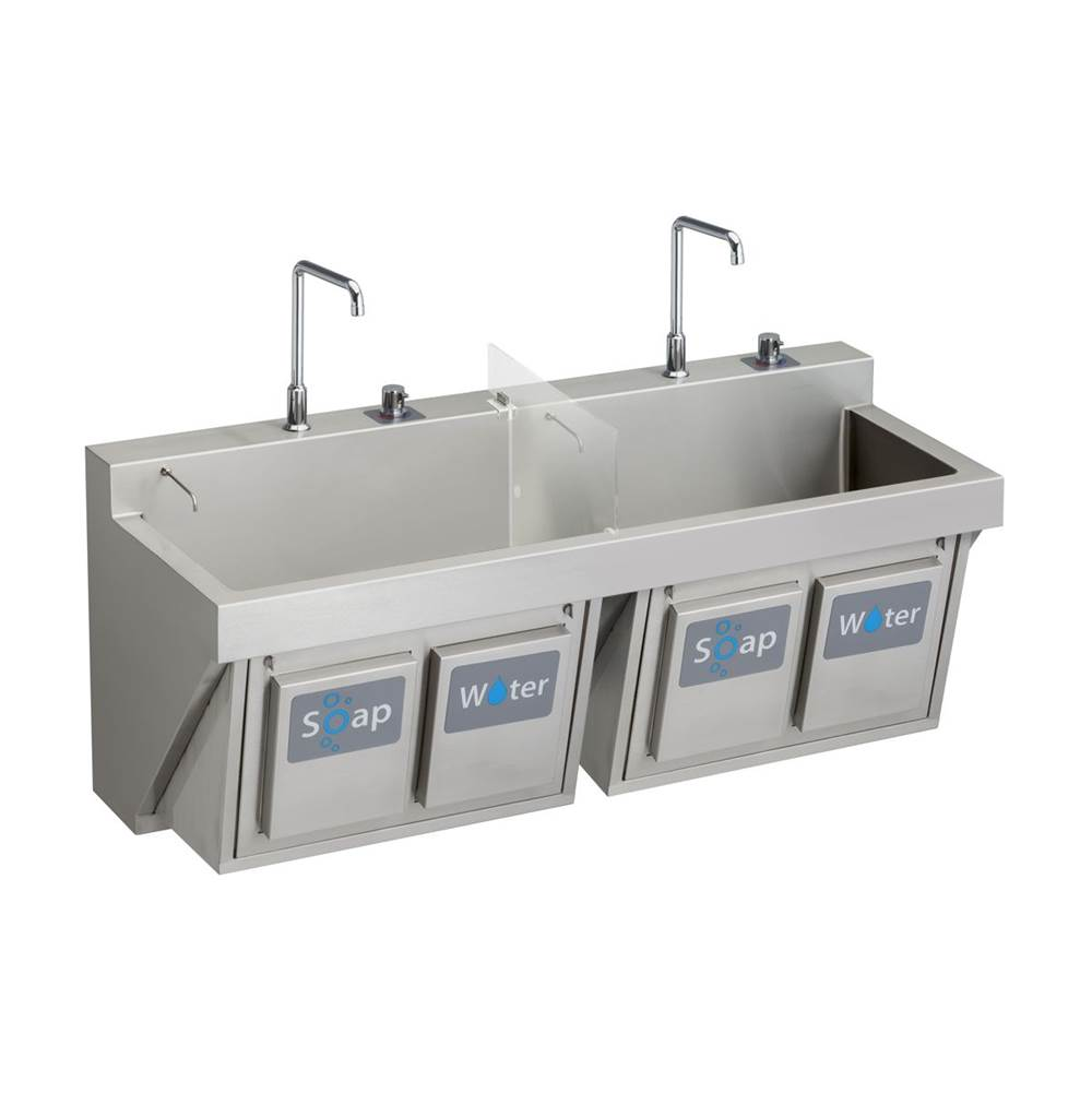 Elkay Wall Mount Laundry And Utility Sinks item EWSF26026KWSC