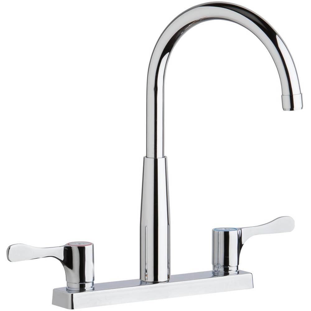 Elkay Deck Mount Kitchen Faucets item LKD2423BHC