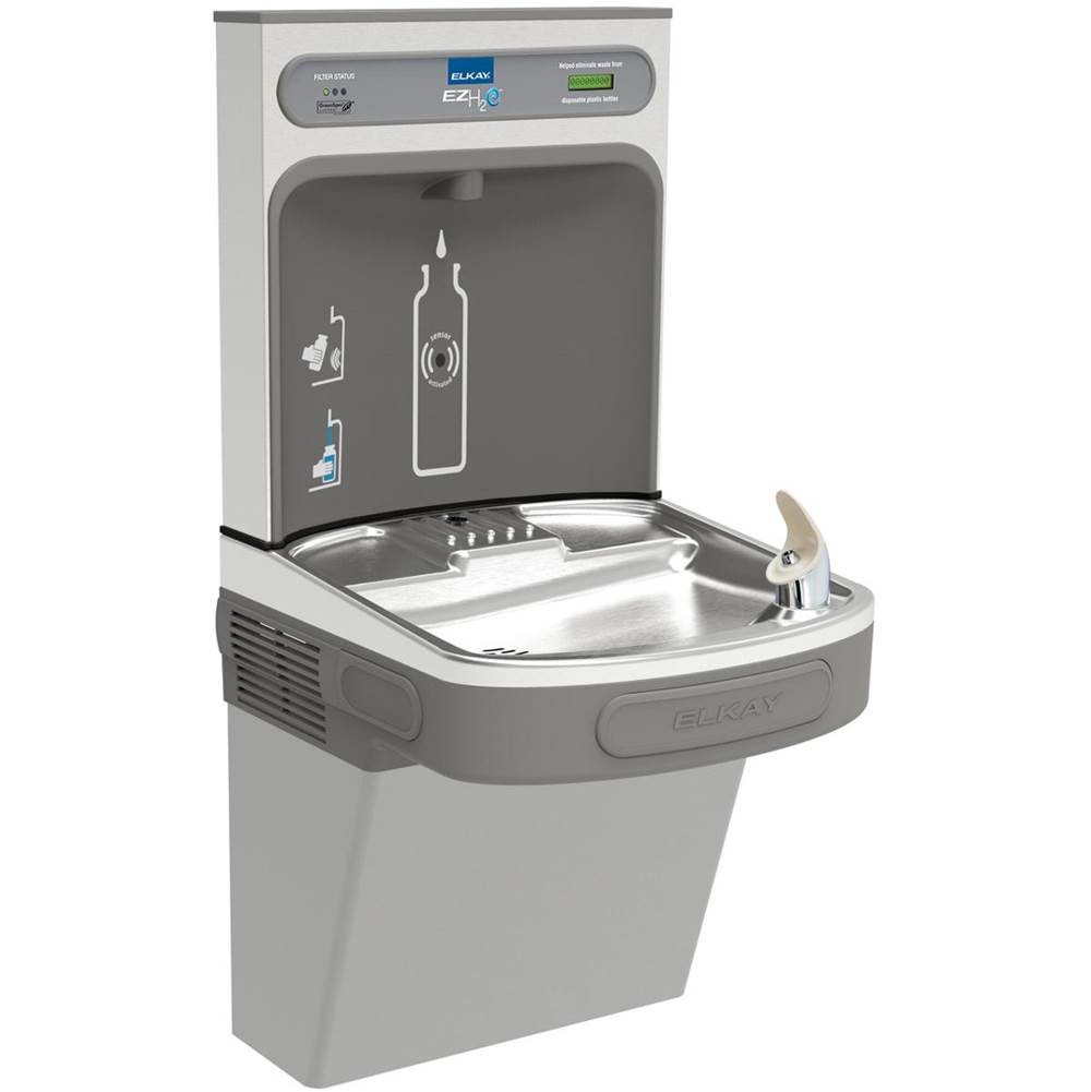 Elkay Wall Mount Drinking Fountains item LZS8WSLK