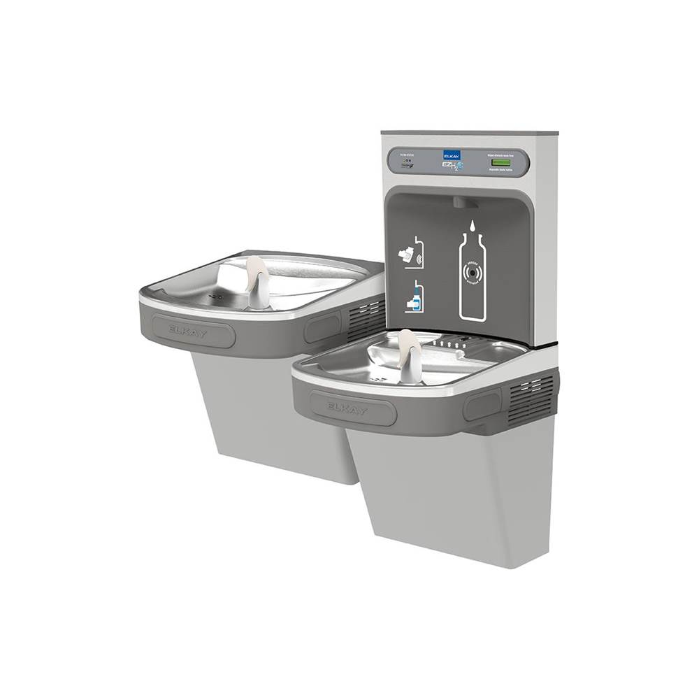 Elkay Wall Mount Drinking Fountains item LZSTL8WSLK